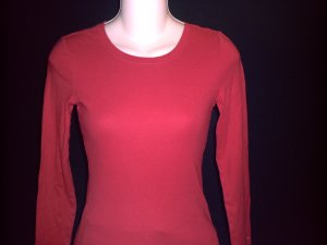 OLD NAVY Red Long Sleeve Knit Top Size XS