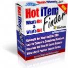 Hot Item Finder- Ebay Software