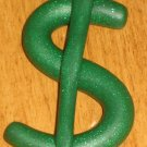 "32"" Green Glitter Money Sign"