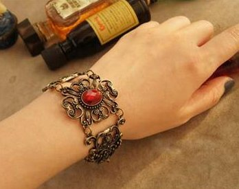 Korean Flower vine flowers retro palace jewel bracelet