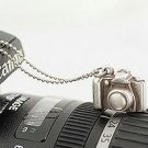 Korean retro small camera necklace