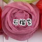 Korea Hot fold the scarf candy color scarf