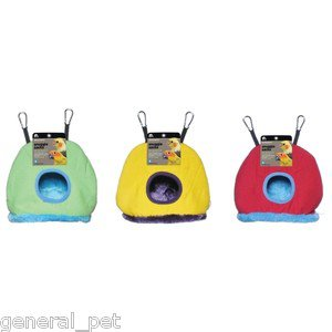 PREVUE PET Snuggle Sack Bird Hideaway Small Assorted Colors