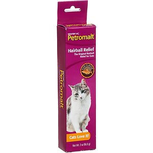 SentryHC Petromalt Hairball Relief for Cats Fish Flvr 2 ounce