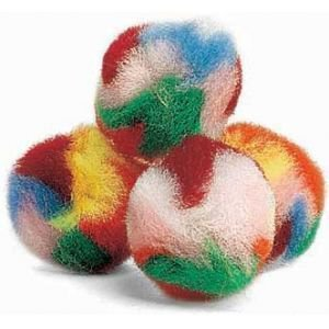 Ethical Pet Products Yarn Puff Balls 4 Pack