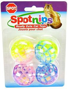 Ethical Cat Spot Lattice Balls 4 Pack