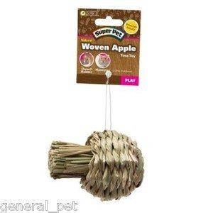 Super Pet Natural Woven Apple Toy