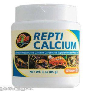 Zoo Med Repti Calcium without D3 3oz