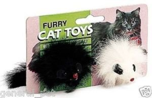 Ethical Pet Products Spotnips Furry Mice 2 inch
