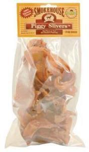 Smokehouse Piggy Slivers Dog Chews - 10 pk 3.2oz