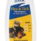 Zodiac Flea & Tick Shampoo for Dogs and Cats 12oz