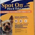 Zodiac Spot on Flea & Tick Spot On For Puppies, Toys & Minitures Under 15 lbs
