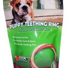 N-Bone Puppy Teething Ring Natural Chew Treat Chicken Flavor 6 pack