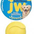 JW Pet iSqueak Bouncin' Baseball Rubber Dog Toy - Medium