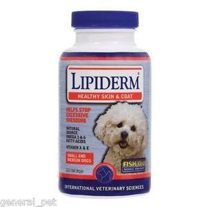 International Veterinary Sciences Lipiderm Small & Medium Dogs 180 Tablets