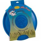 Jolly Flyer Rubber Dog Frisbee 9.5 inch Blue
