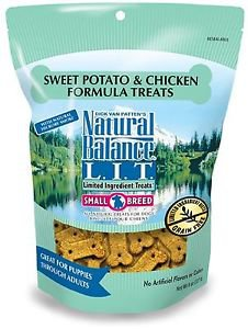 Natural Balance L.I.T. Limited Ingredient Treats Sweet Potato & Chicken 8oz