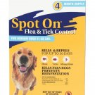 Zodiac Flea & Tick Spot On For Medium Dogs 31 to 60 Pounds 4 month Supply