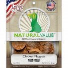 Loving Pets Natural Value Chicken Nuggets  Dog Treats 1.5 oz Made in USA