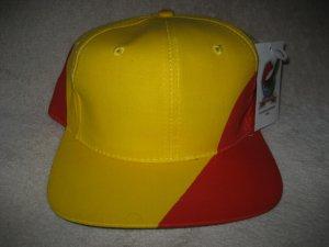 8e89836ed9b Global Caps Spain Spanish Flag Country Big Logo Blockhead Vintage Snapback  Hat Cap Snap Back NEW