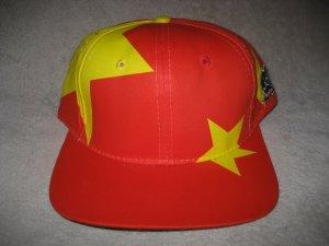 ce4f7c9abb9 Global Caps China Chinese Flag Country Big Logo Blockhead Vintage Snapback  Hat Cap Snap Back NEW