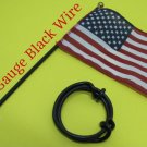 #10 GAUGE AWG WIRE 1 FT BLACK CABLE POWER GROUND STRANDED COPPER PRIMARY HHO AMP