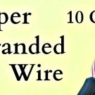#10 GAUGE AWG WIRE 1000 FT ROLL BLACK CABLE POWER GROUND STRANDED COPPER PRIMARY