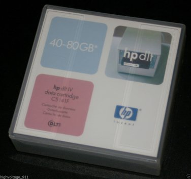HP DLT IV Tape Cartridge 40-80 GB C5141F