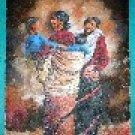 Painitng of Newari Women (50cm x 38cm) # CLKPA-8