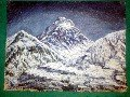 Painting of Himalayas (50cm x 38cm) # CLKPA-11