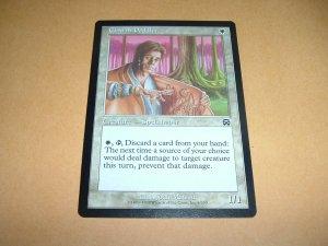 Charm Peddler (Magic MTG: Mercadian Masques Card #6) White Common, for sale