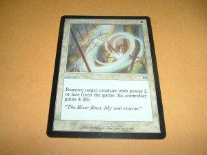 Last Breath (Magic MTG: Mercadian Masques Card #27) UNPLAYED White Uncommon, for sale