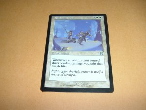 Noble Purpose (Magic MTG: Mercadian Masques Card #32) UNPLAYED White Uncommon, for sale