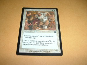 Steadfast Guard (Magic MTG: Mercadian Masques Card #50) White Common, for sale