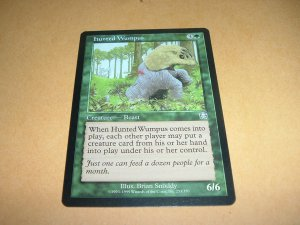 Hunted Wumpus (Magic MTG: Mercadian Masques Card #253) Green Uncommon, for sale