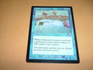 False Demise (Magic MTG: Mercadian Masques Card #80) UNPLAYED Blue Uncommon, for sale