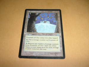 Fountain of Cho (Magic MTG: Mercadian Masques Card #317) Land Uncommon, for sale