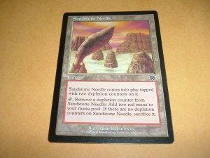 Sandstone Needle (Magic MTG: Mercadian Masques Card #326) Land Common, for sale