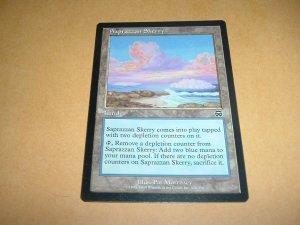 Saprazzan Skerry (Magic MTG: Mercadian Masques Card #328) Land Common, for sale