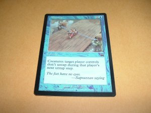 Misstep (Magic MTG: Mercadian Masques Card #88) mis-step, Blue Common, for sale