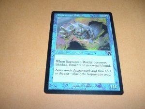 Saprazzan Raider (Magic MTG: Mercadian Masques Card #102) Blue Common, for sale