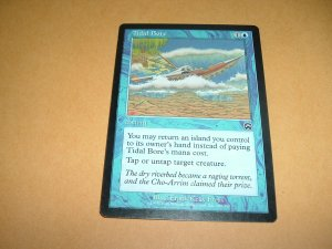 Tidal Bore (Magic MTG: Mercadian Masques Card #109) Blue Common, for sale