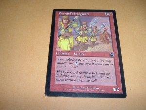 Gerrard's Irregulars (Magic MTG: Mercadian Masques Card #192) Red Common, for sale