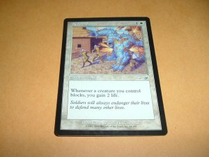 Noble Stand (Magic, The Gathering: Nemesis Card #14) UNPLAYED White Uncommon, for sale
