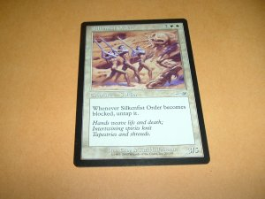 Silkenfist Order (Magic, The Gathering: Nemesis Card #20) UNPLAYED White Uncommon, for sale