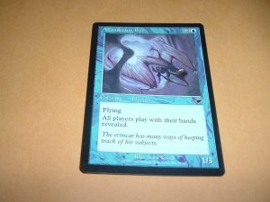 Wandering Eye (Magic, The Gathering MTG: Nemesis Card #50) Blue Common, for sale
