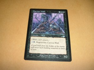 Carrion Wall (Magic, The Gathering MTG: Nemesis Card #54) UNPLAYED Black Uncommon, for sale