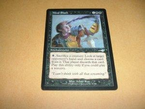 Mind Slash (Magic, The Gathering MTG: Nemesis Card #59) VERY FINE Black Uncommon, for sale