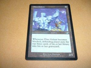 Flint Golem (Magic, The Gathering MTG: Nemesis Card #130) VERY FINE- Artifact Uncommon, for sale