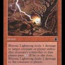 Rhystic Lightning (Magic The Gathering MTG: Prophecy Card #99) Red Common, for sale